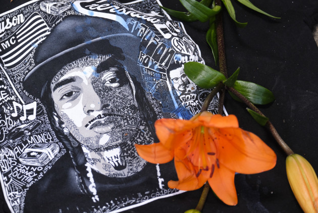 Memorial For Rapper Nipsey Hussle