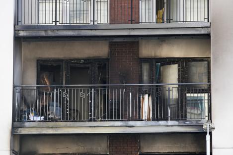 Belfast apartment block fire