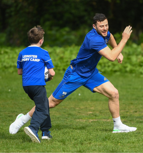 Launch of the Bank of Ireland Leinster Rugby Summer Camps 2019