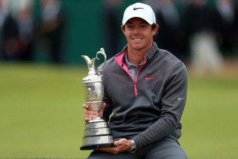 Golf - The Open Championship 2014 - Day Four - Royal Liverpool Golf Club