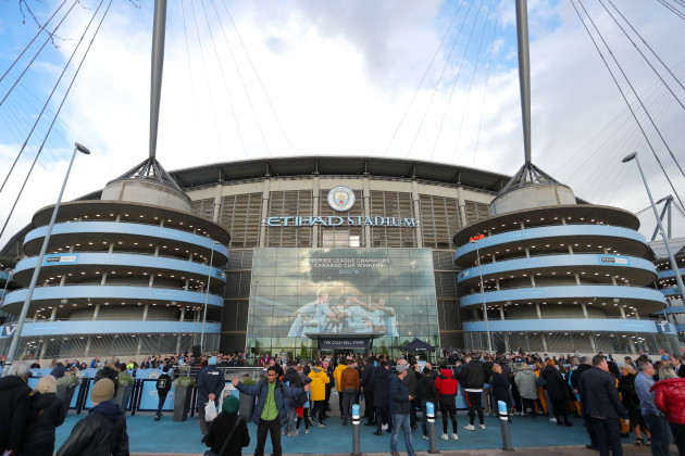 Manchester City v Cardiff City - Premier League - Etihad Stadium