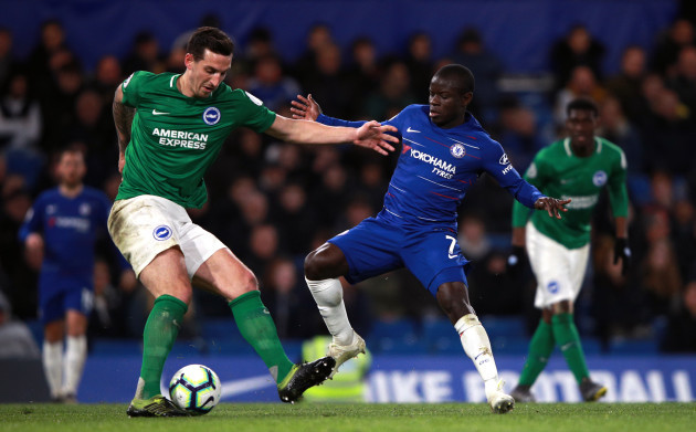 Chelsea v Brighton and Hove Albion - Premier League - Stamford Bridge