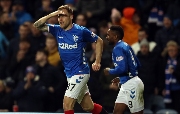 Rangers v Heart of Midlothian - Ladbrokes Scottish Premiership - Ibrox Stadium