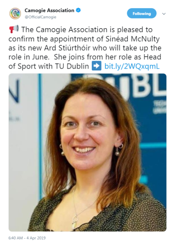 camogie ceo