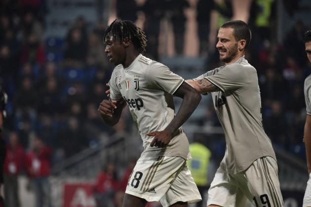 Cagliari vs Juventus - Serie A TIM 2018/2019.