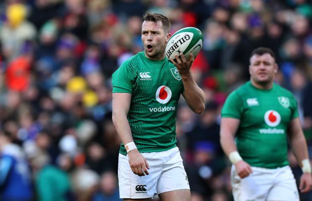 Ireland's Jack Carty