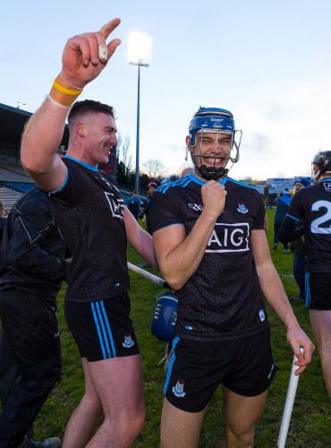 John Hetherton and Eoghan OÕDonnell celebrate winning
