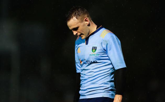 Nick McCarthy dejected