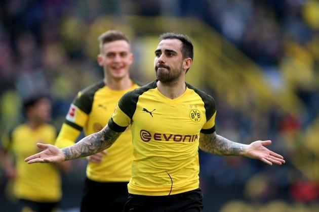 Dortmund, firo: 30.03.2019, football, 1.Bundesliga, season 2018/2019, BVB, Borussia Dortmund - VfL Wolfsburg,