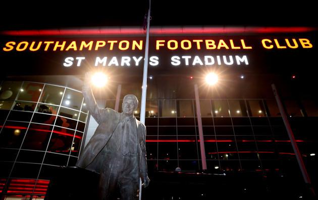 Southampton v Crystal Palace - Premier League - St Mary's Stadium