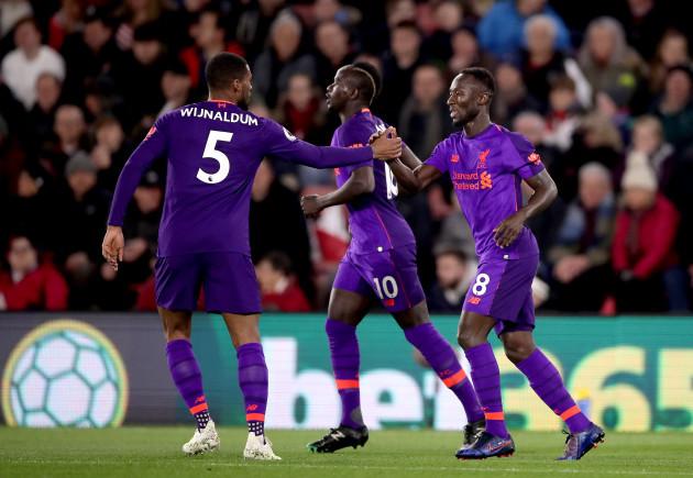 Southampton v Liverpool - Premier League - St Mary's Stadium