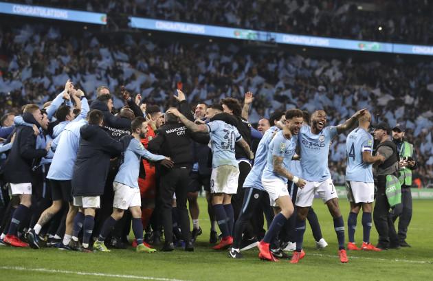 Chelsea v Manchester City - Carabao Cup Final - Wembley Stadium