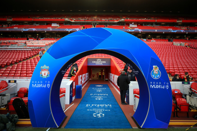 Liverpool v FC Porto - UEFA Champions League - Quarter Final - First Leg - Anfield