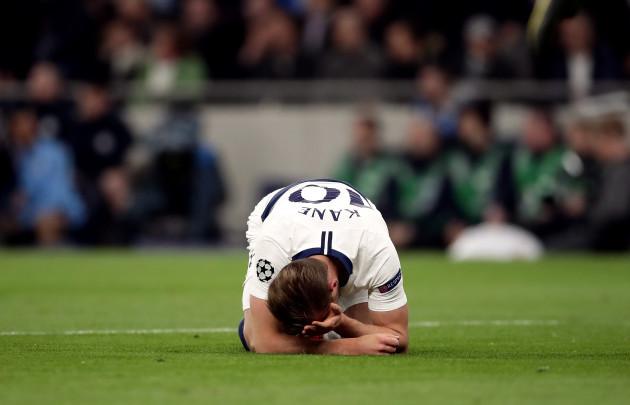 Tottenham Hotspur v Manchester City - UEFA Champions League - Quarter Final - First Leg - Tottenham Hotspur Stadium
