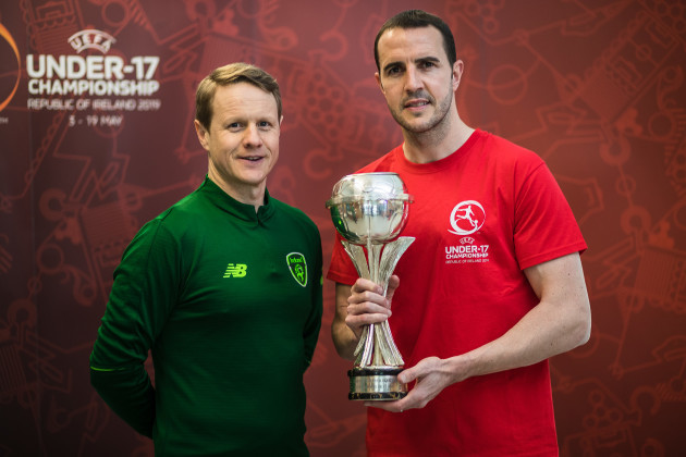 Colin O'Brien and John O'Shea