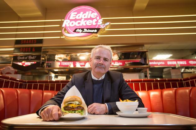 Chief executive of Eddie Rocket's Adrian Crean. Pic:Mark Condren 13.3.2019