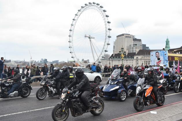 Bloody Sunday bike protest
