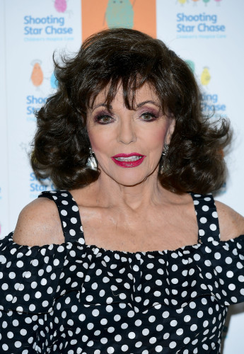 Dame Joan Collins comments