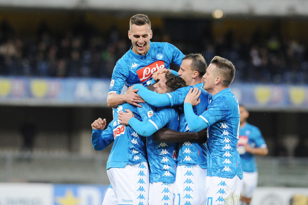 Chievo vs Napoli - Serie A TIM 2018/2019