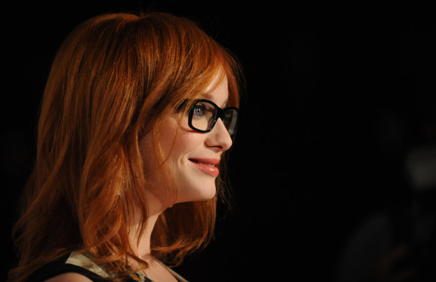 Christina Hendricks at a Eyewear Launch - Sydney