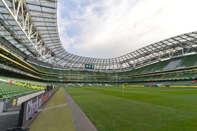 Aviva Stadium in Dublin