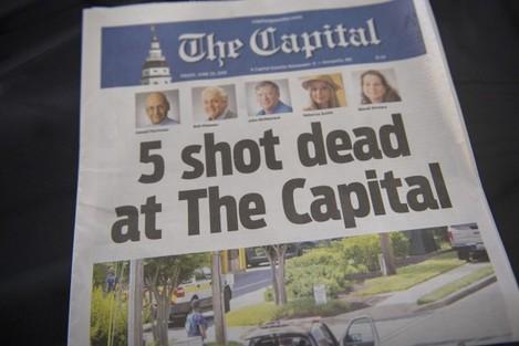 News: Capital Gazette Newspapers Shooting