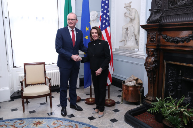 Pelosi visit to Ireland