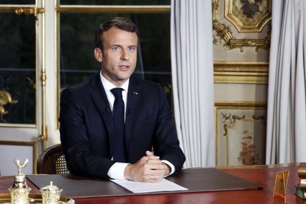 TV address by Emmanuel Macron amid Notre-Dame disaster