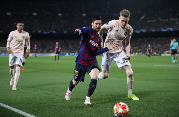 Barcelona v Manchester United - UEFA Champions League - Quarter Final - Second Leg - Camp Nou