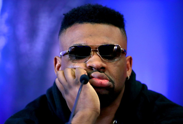 Anthony Joshua and Jarrell Miller Press Conference - Hilton London Syon Park