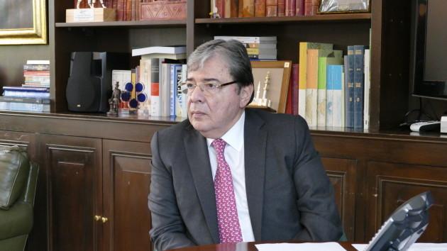 Colombian Foreign Minister Carlos Holmes Trujillo Credit_Amanda Coakley