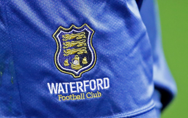 A view of the Waterford crest