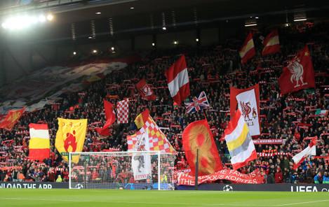 Liverpool v FC Porto - UEFA Champions League - Quarter Final - First Leg - Anfield