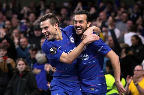 Chelsea v Slavia Prague - UEFA Europa League - Quarter Final - Second Leg - Stamford Bridge