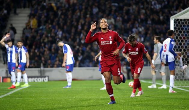 FC Porto v Liverpool - UEFA Champions League - Quarter Final - Second Leg - Estadio do Dragao
