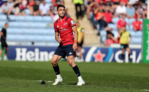 Conor Murray watches his penalty kick go over