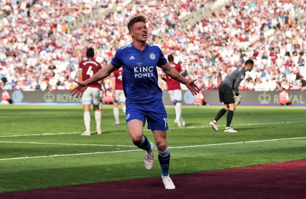 West Ham United v Leicester City - Premier League - London Stadium
