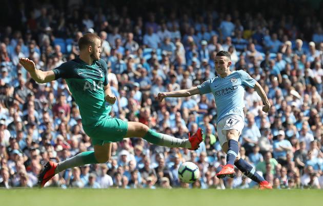 Manchester City v Tottenham Hotspur - Premier League - Etihad Stadium