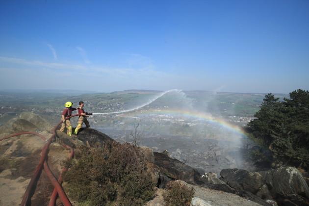 Ilkley Moor fires