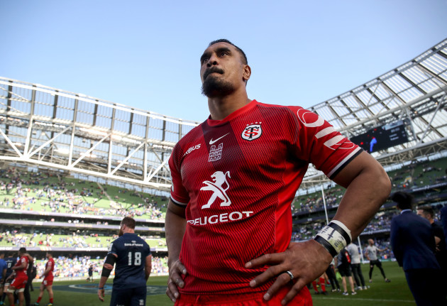 Jerome Kaino dejected after the game