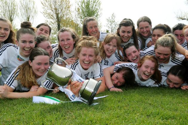 Kildare team celebrate