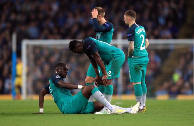 Manchester City v Tottenham Hotspur - UEFA Champions League - Quarter Final - Second Leg - Etihad Stadium