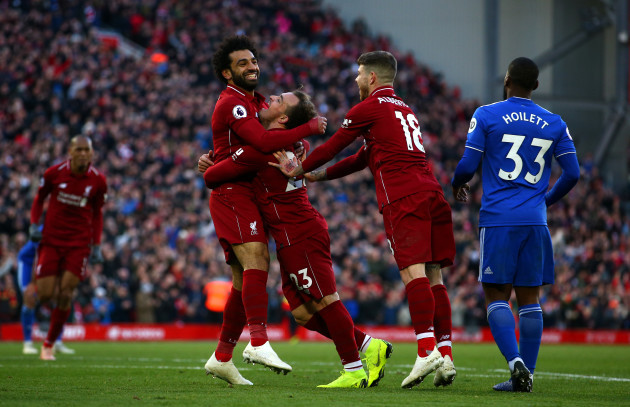 Liverpool v Cardiff City - Premier League - Anfield