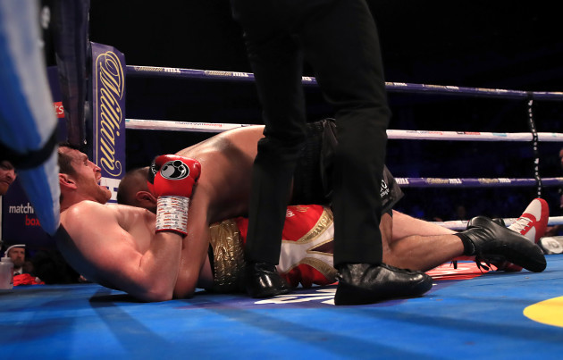 M&S Bank Arena Boxing