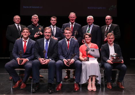 All award winner on stage after tonights event