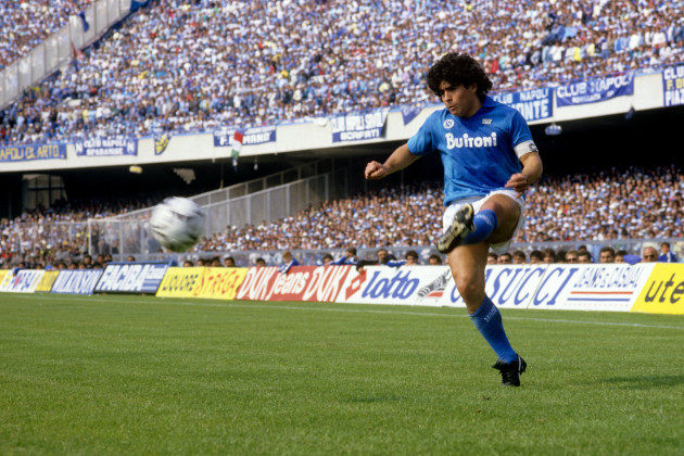 Soccer - Italian Serie A - Napoli v Fiorentina