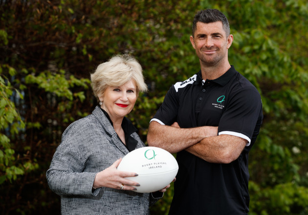 Maura Quinn and Rob Kearney