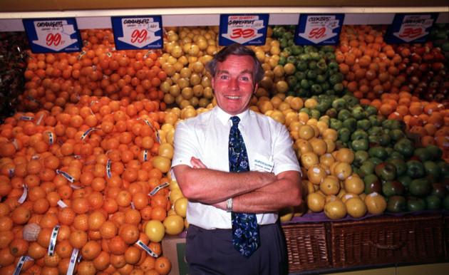 FILE PHOTO Superquinn founder and former senator Feargal Quinn has died aged 82 END
