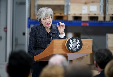 Theresa May visit to Grimsby