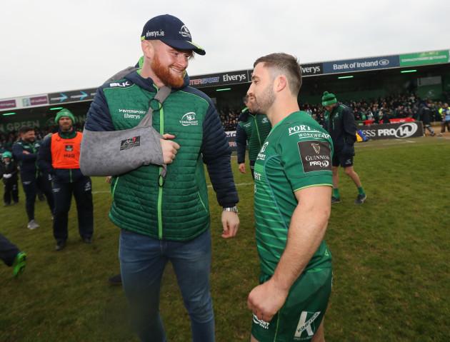 Sean O'Brien and Caolin Blade